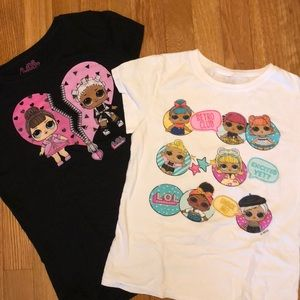 2LOL doll t's, excellent condition